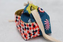 Load image into Gallery viewer, MINI WEE BRAW BAG (9) | ready to ship | compact sock project bag / notions pouch