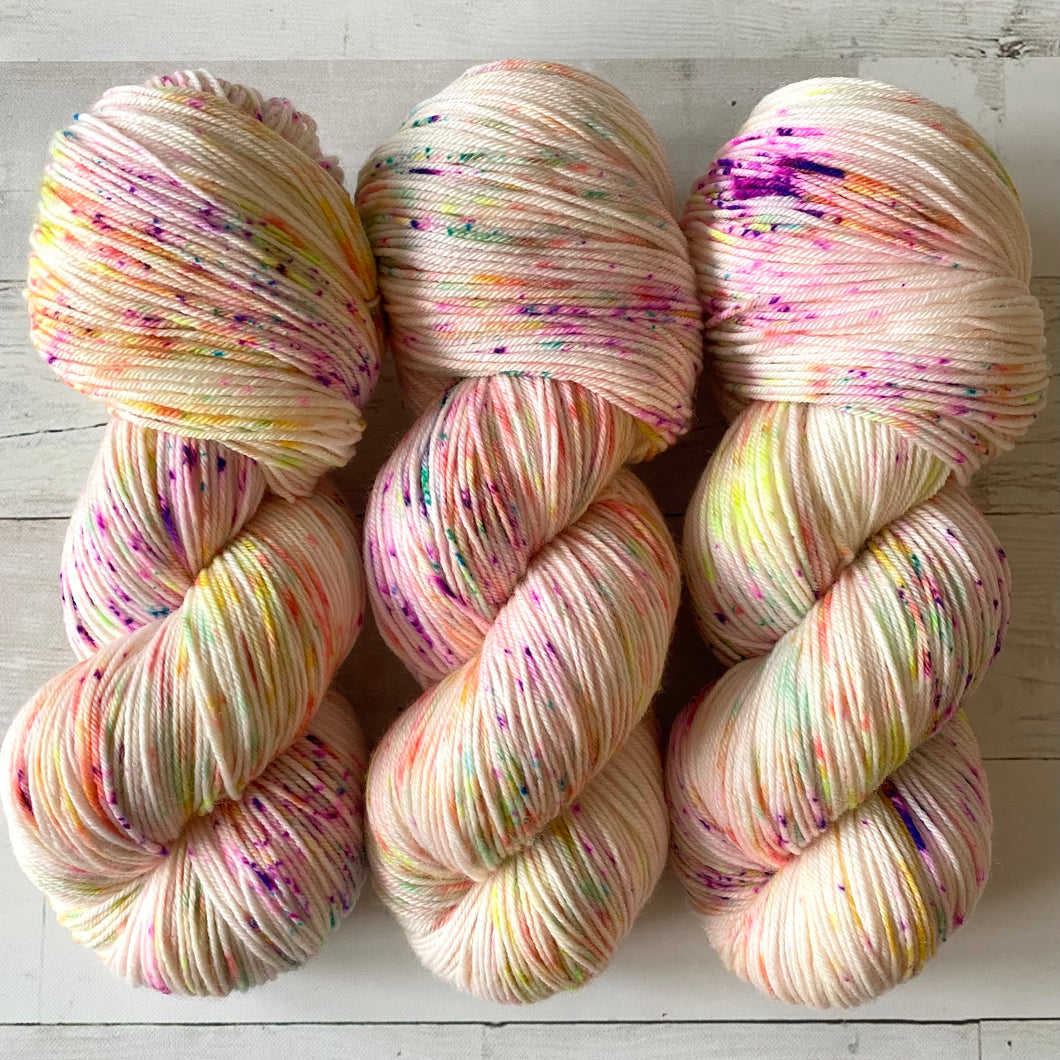 JELLY BELLY | spring collection | speckled yarn