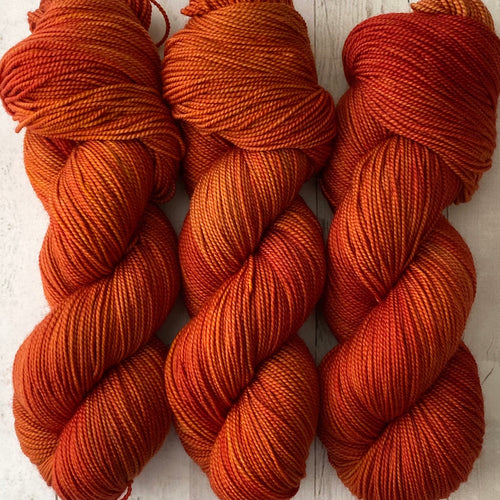 PUMPKIN SPICE | sleek sock | tonal yarn