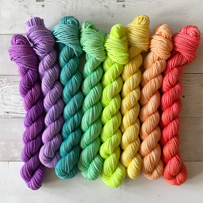 HAPPY | spring collection mini set | tonal yarn