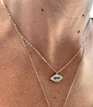 Load image into Gallery viewer, Anais Evil Eye Necklace