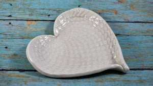 Lace Heart Ring Dish