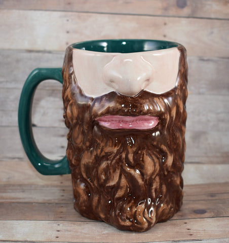Beard Tankard, Custom Bearded Mug