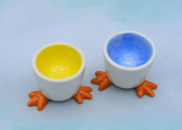 Footed Egg Cups