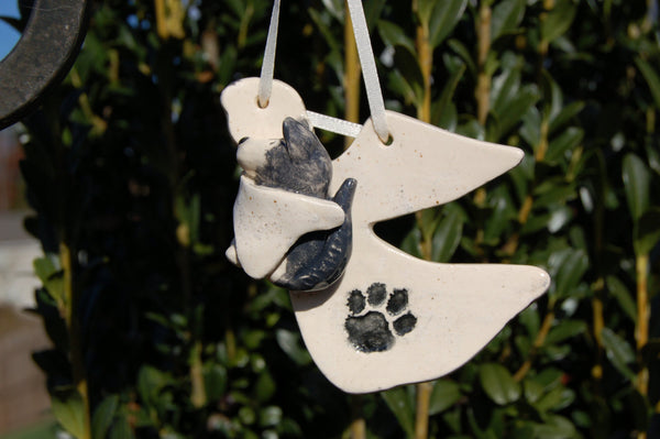 Pet Angel Christmas Ornaments