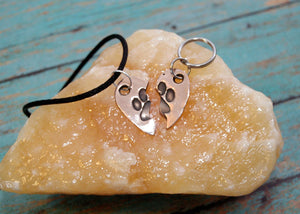 Rose Bronze Puppy (or Kitty) Love Friendship Set
