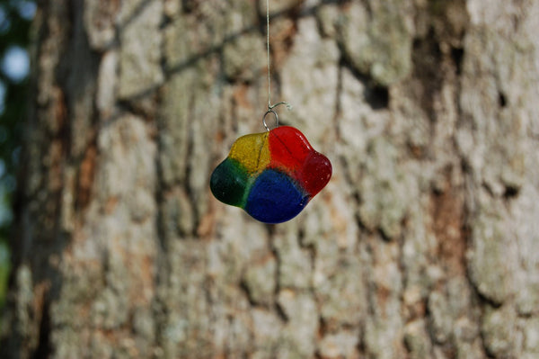 Rainbow Bridge Ceramic Wind Bell