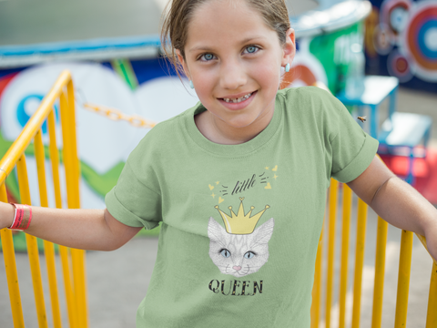 little queen girls t shirt