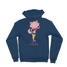 Load image into Gallery viewer, Fit Fabulous Lady Hoodie sweater is designed specially to showcase your love for your feline pet and gives your the best experience, premium grade ${product_type