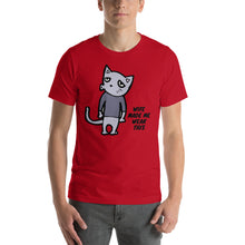 Load image into Gallery viewer, Bored Short-Sleeve Unisex T-Shirt is designed specially to showcase your love for your feline pet and gives your the best experience, premium grade ${product_type