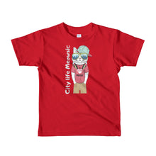 Load image into Gallery viewer, City Meowsic Short sleeve kids t-shirt 2yrs-6yrs is designed specially to showcase your love for your feline pet and gives your the best experience, premium grade ${product_type