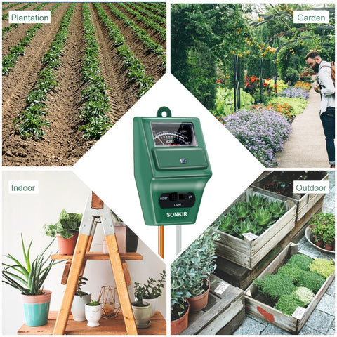 SoilSafe Meter - Test soil health anywhere you go, ensure plants remain healthy.
