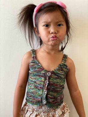 Lil' Selkie Tank - Knitting Pattern - Kid's Sizes