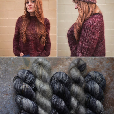 Salem Sweater | Preorder | Gothic Daydream | (mohair version)