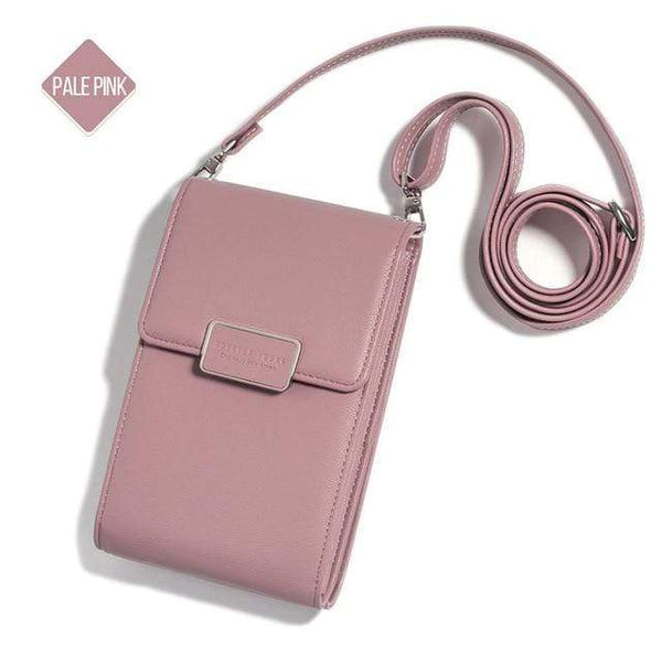 "LUXINI Pink 2 Signature Crossbody Cellphone Bag  <img src=""https://cdn.shopify.com/s/files/1/0056/0542/5222/files/PRODUCT_REVIEWS_9fa5b582-9c01-439e-89e8-53e3aac06fac.jpg?v=1596250696"" auto="""" width:="""" max-width:="""" height:=""""> <p>"
