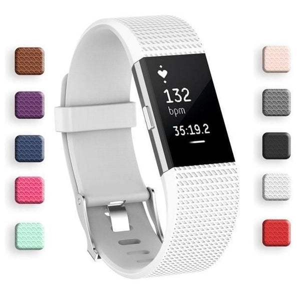 "Luxini White / L Luxury Soft Smartwatch Band For Fitbit Charge 2 <img src=""https://i.ibb.co/y52DbCV/PRODUCT-REVIEWS-Fitbit-Smartwatch-Band.jpg"" auto="""" width:="""" max-width:="""" height:=""""> <p>"
