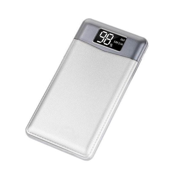 "LUXINI Silver 20000 mAh Ultra-Thin Portable Power Bank <img src=""https://i.ibb.co/BcPmKSV/PRODUCT-REVIEWS-presidential-power-bank.jpg"" auto="""" width:="""" max-width:="""" height:=""""> <p>"