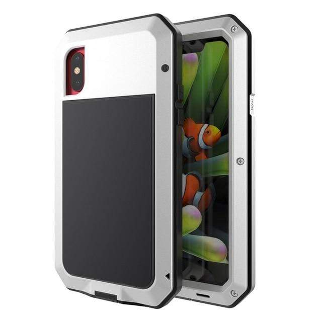"LUXINI for iPhone 5S SE / Silver The Armor Case | For iPhone   <img src=""https://cdn.shopify.com/s/files/1/0056/0542/5222/files/PRODUCT_REVIEWS_-_Armor_Case.jpg?v=1595186559"" auto="""" width:="""" max-width:="""" height:=""""> <p>"