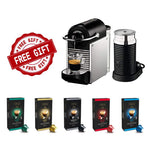 Free* Nespresso Pixie and Aeroccino 3 Machine With Purchase of 200 Capsules