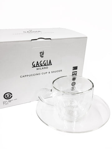 Gaggia Cappuccino Cup and Saucer