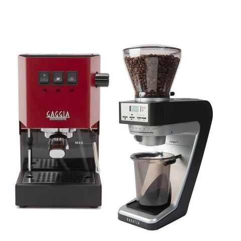 Gaggia Classic Pro Color and Baratza Sette 30 Bundle