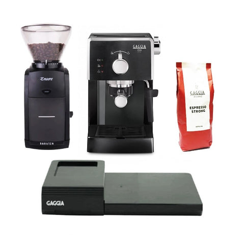 Gaggia Viva Style and Baratza Encore Bundle