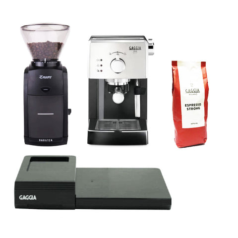 Gaggia Viva Deluxe and Baratza Encore Bundle