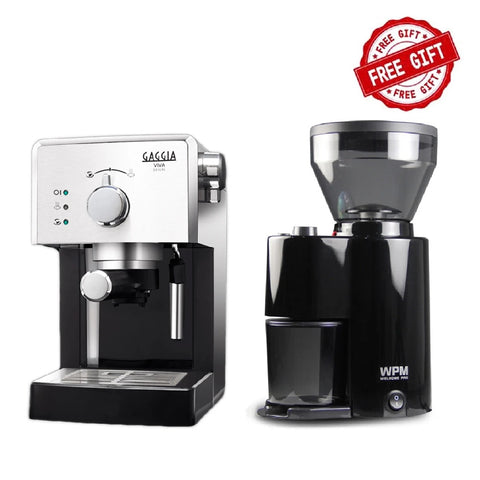 Gaggia Viva Deluxe & Free WPM ZD 10 Grinder