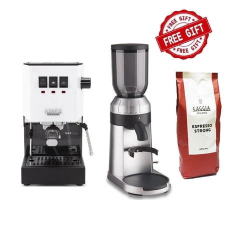 Gaggia Classic Pro Color & FREE WPM ZD15 Grinder