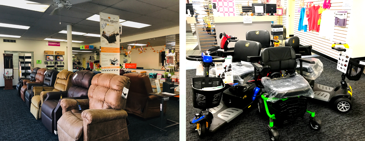 Medical West Healthcare Center Showroom Mobility Equipment