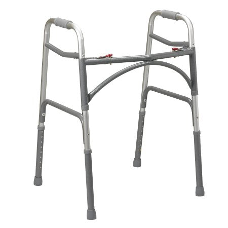 Bariatric Dual Release Walker Adjustable Height drive™ Aluminum Frame 500 lbs. Weight Capacity 32 to 39 Inch Height