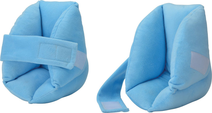 HEEL PROTECTOR WITH ELEVATING LEG REST BLUE COVER