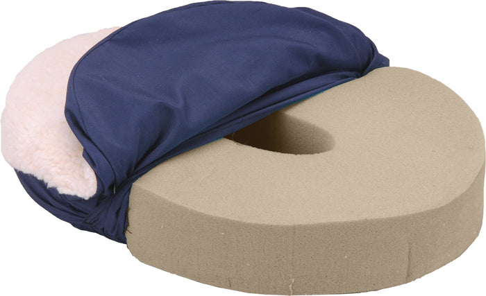 SEAT COMFORT RING FLEECE COVER