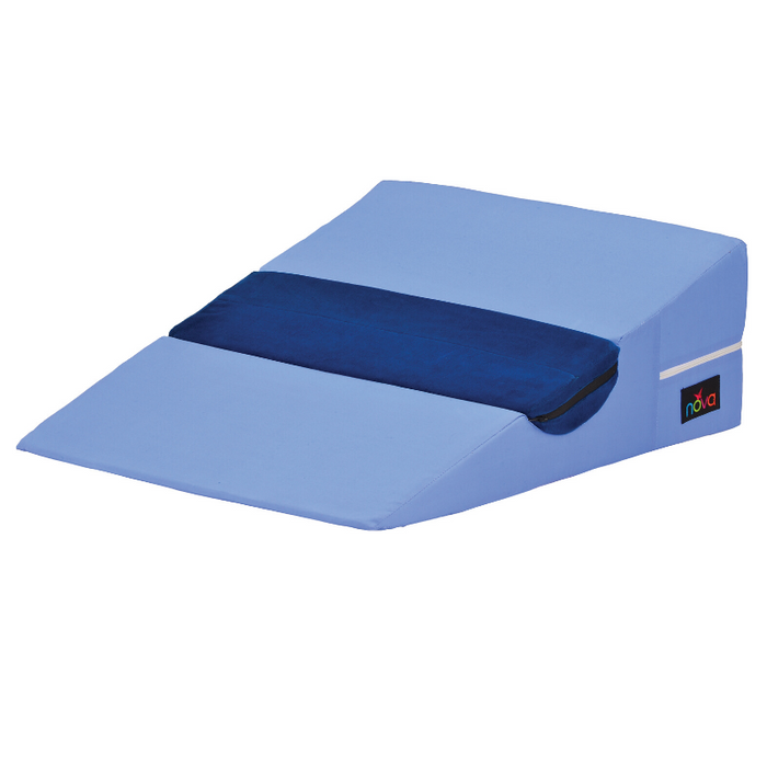 BED WEDGE WITH HALF ROLL PILLOW