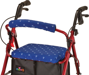 SEAT AND BACK COVER FOR ROLLING WALKER