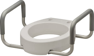 TOILET RISER WITH-ARMS ELONGATED