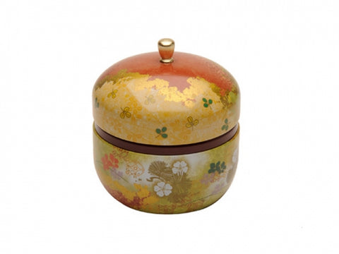 Tea Storage Caddy - Haruki (Gold)