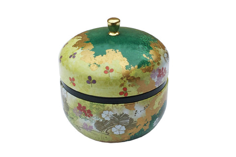 Tea Storage Caddy - Haruki (Green)
