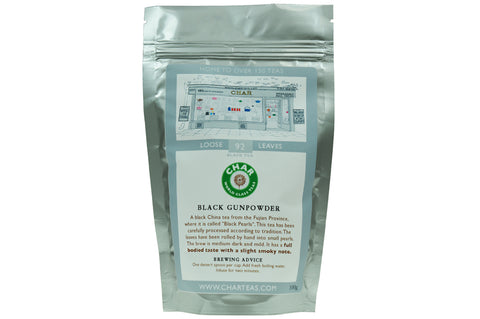 Black Gunpowder Tea