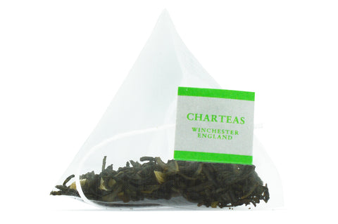 Fine China Jasmine Pyramid Tea Bags (Biodegradable)