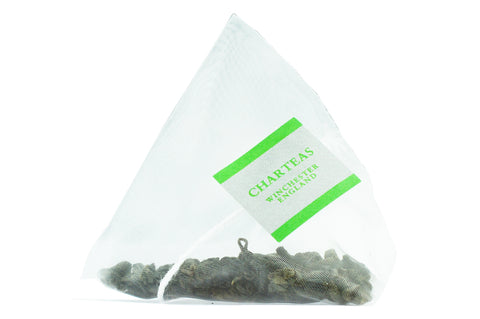 Temple of Heaven Gunpowder Green Pyramid Tea Bags (Biodegradable)