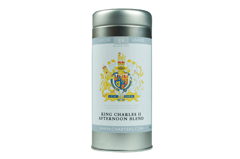 King Charles II Afternoon Blend Tea & Gift Caddy