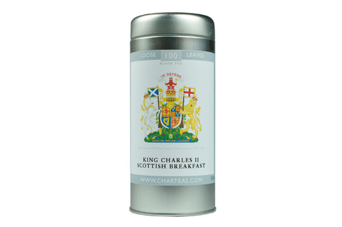 King Charles II Scottish Breakfast Tea & Gift Caddy