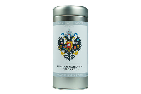 Russian Caravan Smoked Tea & Gift Caddy