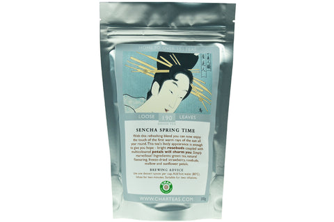 Sencha Spring Time Scented Tea