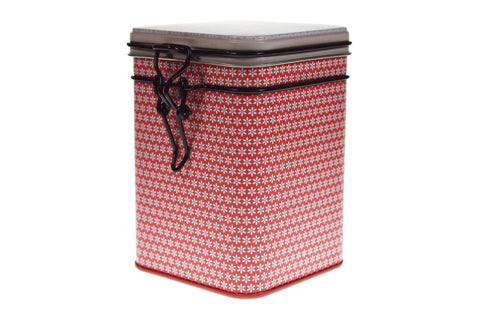 Tea Storage Caddy - Bella 150g (Red)