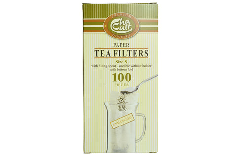 Disposable Paper Tea Filter (100 small)
