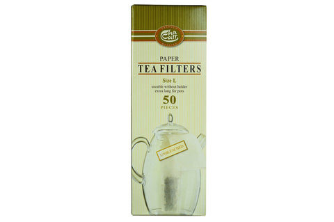 Disposable Paper Tea Filter (50 large)