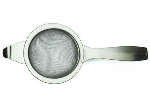 Tea Strainer With Drip Saucer