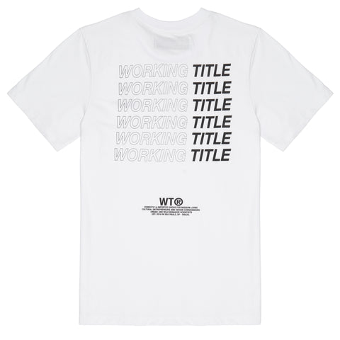 WORKING TITLE | Camiseta Branca WTR010
